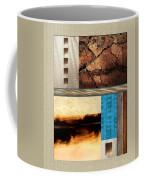 Wood And Stone Rectangular Textures Coffee Mug
