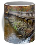 Wood Bridge And Autumn Color Coffee Mug
