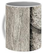 Wood Concrete And Steel Coffee Mug