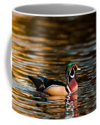 Wood Duck At Morning Coffee Mug