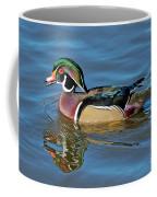 Wood Duck Male Calling Coffee Mug