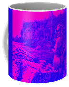 Wood Nymph In Pink And Blue Coffee Mug