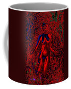 Wood Nymph In Red Power Coffee Mug