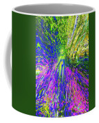 Wood Nymph With Her Magic Of Colours Coffee Mug