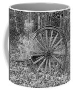 Wood Spoke Wheel Coffee Mug