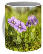 Wood Violet Coffee Mug
