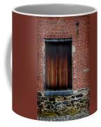 Wood Window Brick Wall Coffee Mug