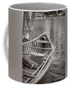 Wooden Canoe Coffee Mug