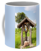 wooden shrine of holy Mother in Poland  Coffee Mug