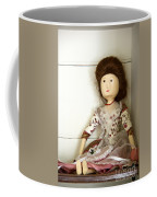 Wooden Doll Coffee Mug by Margie Hurwich