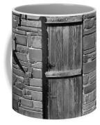 Wooden Door And Stone Wall 1 Coffee Mug