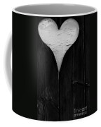 Wooden Heart Coffee Mug