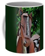 Wooden Horse15 Coffee Mug