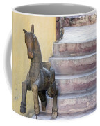 Wooden Horses 2 Coffee Mug