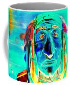 Wooden Indian Coffee Mug