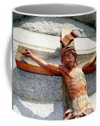 Wooden Jesus Coffee Mug