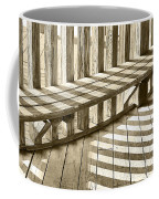 Wooden Lines - Semi Abstract Coffee Mug