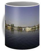 Wooden Logs Mounted In The Middle Of The Dal Lake In Srinagar Coffee Mug