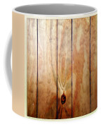 Wooden Panel Coffee Mug by Les Cunliffe