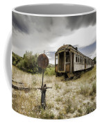 Wooden Train - Final Resting Place  Coffee Mug