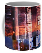 Wooden Wagon Side In Colors Coffee Mug