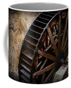 Wooden Water Wheel Coffee Mug by Paul Ward