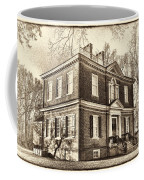 Woodford Mansion Coffee Mug by Olivier Le Queinec