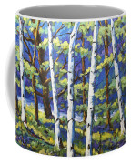 Woodland Birches Coffee Mug