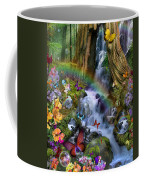 Woodland Forest Fairyland Coffee Mug by Alixandra Mullins