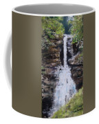Woodland Waterfall Coffee Mug by Jack Skinner