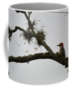 Woodpecker On Lookout Coffee Mug