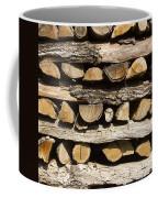 Woodpile. Coffee Mug