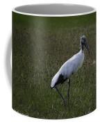 Woodstork In Field Coffee Mug
