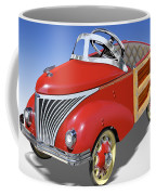 Woody Peddle Car Coffee Mug