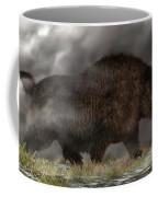 Woolly Rhinoceros Coffee Mug