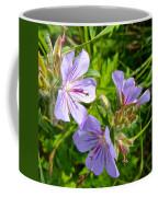 Wooly Geranium In Katmai National Preserve-ak  Coffee Mug