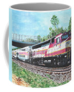 Worcester Bound T Train Coffee Mug