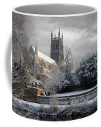 Worcester Cathedral Cloudy Coffee Mug
