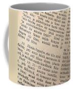 Words Of The Bible Coffee Mug