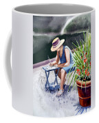 Working Artist Coffee Mug by Irina Sztukowski