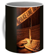 Workplace Violence Coffee Mug by Olivier Le Queinec