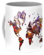 World Atlas Coffee Mug