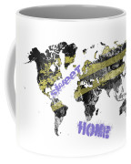 World Map Cool Coffee Mug
