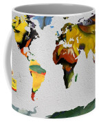 Franz Marc 4 World Map Coffee Mug