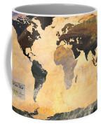 World Map   Turner 1 Coffee Mug