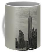 World Trade Center Construction Coffee Mug