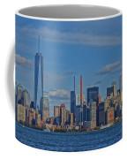 World Trade Center Painting Coffee Mug by Dan Sproul