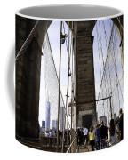 World Trade Center Through The Bridge Coffee Mug