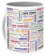 World Travel Coffee Mug