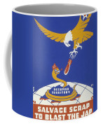 World War II 1939-1945 Anti Japanese Poster Sponsored By The Thirteenth Naval District Coffee Mug by Anonymous